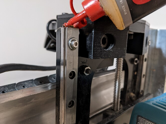 linear guide lubrication